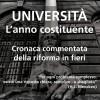 Università – L'anno costituente. Cronaca commentata della riforma in fieri