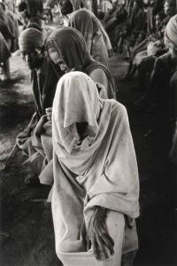 Etiopia, 1984.Profughi del campo di Bati