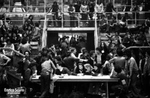 Assemblea Nazionale degli studenti al Palasport
